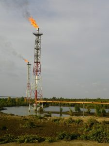 elevated flare vs ground flare