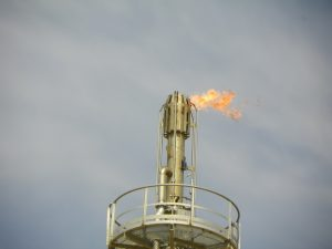 steam assisted flare system